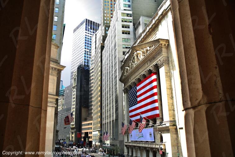 Manhattan,Wall Street,New-York City,New-York,USA