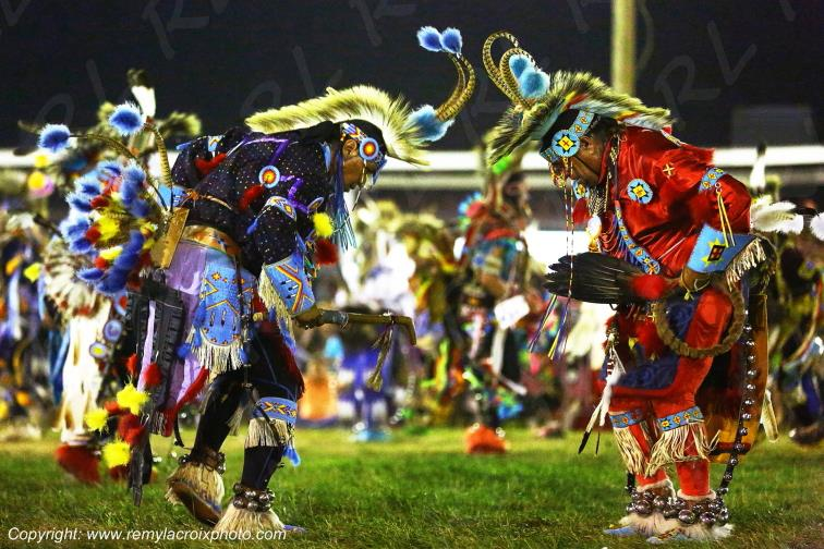 Crow Fair Pow-wow celebration Crow Agency Montana USA
